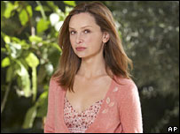 Actor Calista Flockhart in the TV show Brothers and Sisters