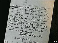 John Lennon's letter