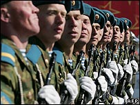 Russian soldiers