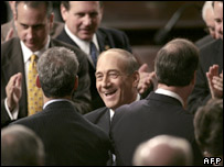 Ehud Olmert in Congress