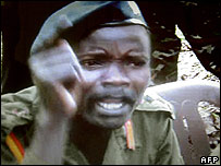 Joseph Kony. File photo
