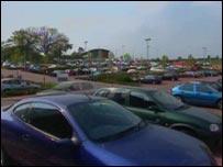 Car park at Sowton
