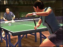 Screenshot from Table Tennis