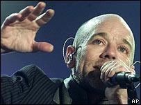 Michael Stipe, lead singer of REM