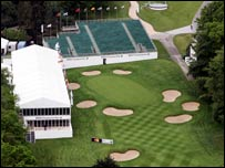 Wentworth's 18th hole
