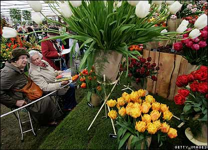 ... enjoyed acres of displays at the 84th Chelsea Flower Show in London