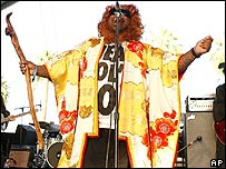 Cee-lo, lead singer of Gnarls Barkley