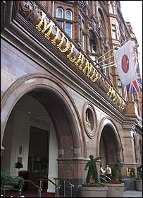 Midland Hotel, Manchester - picture courtesy of MEN Syndication