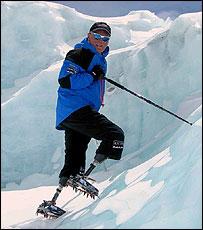Climber Mark Inglis