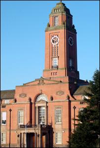 Trafford Town Hall courtesy of Aidan O'Rourke eyeonmanchester.com