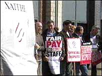Lecturers are taking strike action