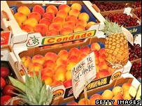 Fruit on a stall