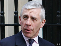 Commons leader Jack Straw