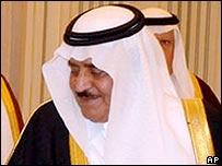 Saudi Interior Minister Prince Nayef