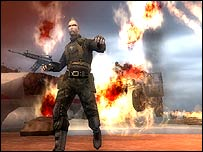 Screenshot from Mercenaries