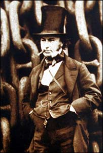 Brunel (SS Great Britain Trust and Press Association)