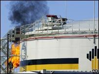 Oil facility in Siberia