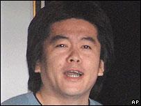 Livedoor's former boss Takafumi Horie