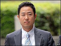Former Livedoor chief financial officer Ryoji Miyauchi