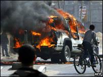 اعمال عنف في غزة