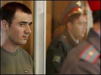 Нурпаши Кулаев в зале суда