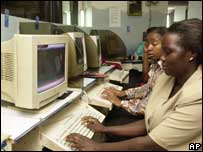 Web users in Kenya, AP