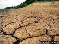 Dry earth (Getty)