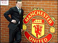 Wayne Rooney at Old Trafford