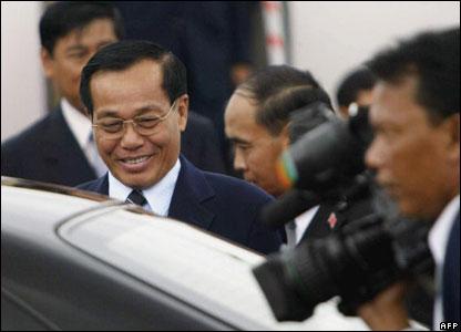 Burmese Prime Minister Soe Win