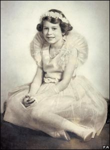 Picture of the Queen as a bridesmaid in 1934