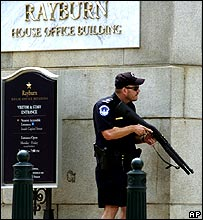 Police at Capitol Hill
