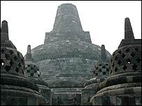 Borobudur temple, near Yogyakarta