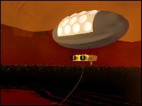 Titan blimp (Ralph Lorenz)