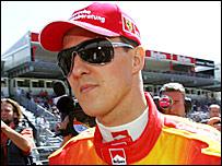 Ferrari driver Michael Schumacher