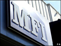 MFI store sign