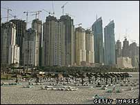 New construction continues in Dubai