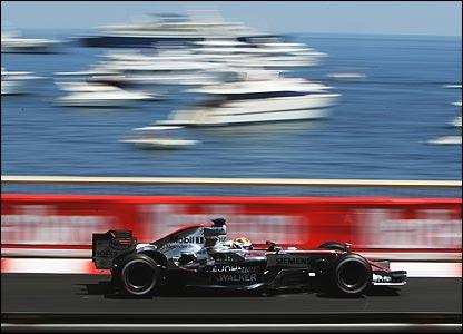McLaren's Juan Pablo Montoya