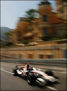 Honda's Rubens Barrichello