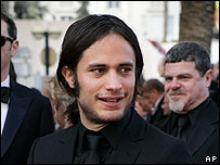 El actor mexicano Gael García Bernal.