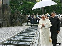Pope Benedict in Auschwitz