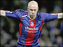 Crystal Palace striker Andy Johnson
