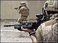 Troops in Basra