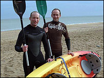 Mike Huber and Travis Spencer to cross English Channel by Kayak
