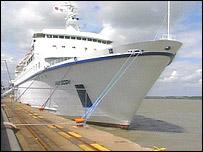Van Gogh cruise ship