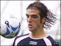 Falkirk defender Tiago
