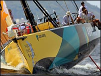 Volvo Ocean Race leader ABN Amro One