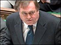 John Prescott in the House of Commons