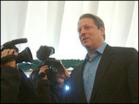 Al Gore at Hay