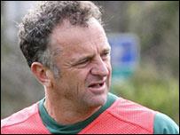 Australia assistant coach Graham Arnold