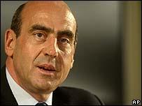Greek Culture Minister Giorgos Voulgarakis